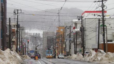 札幌市電 2月
