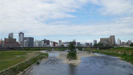 南大橋からの眺め