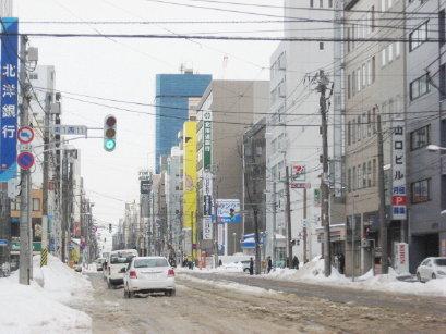 3月の札幌市内
