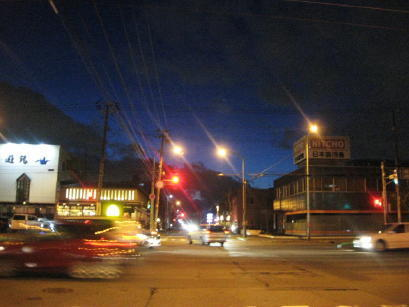 夕方の札幌市内