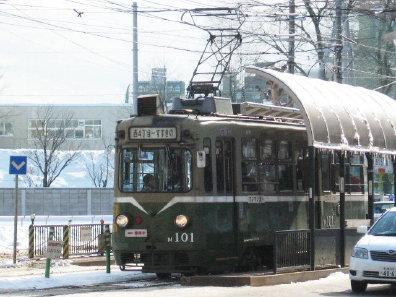 札幌市電 M101