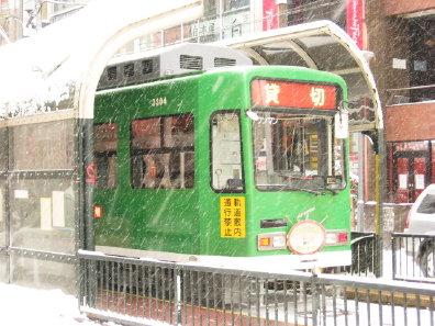 札幌市電 クリスマス号