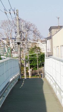 幌南横断歩道橋