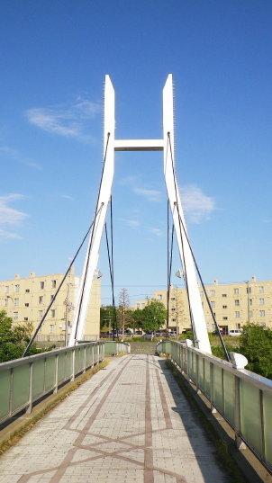 厚別川 北野ふれあい橋