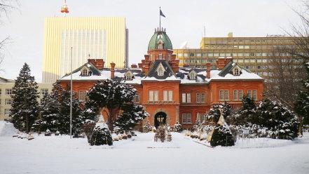 冬の北海道庁旧本庁舎