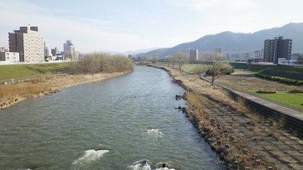 幌平橋からの眺め
