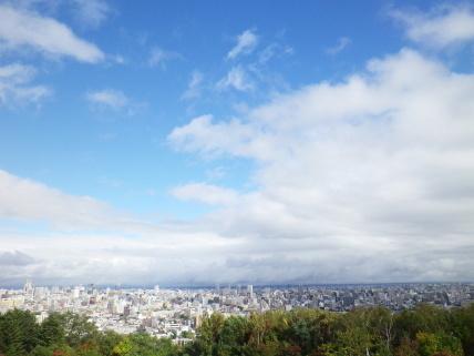 旭山記念公園からの眺め