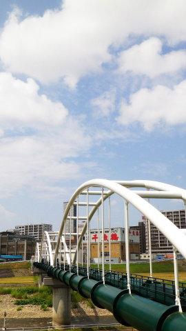 豊平川第一水管橋