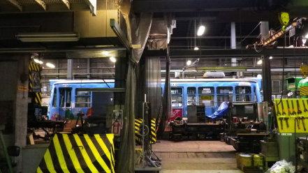 札幌市電 車両工場