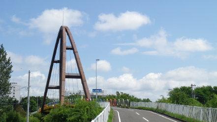 白石サイクリングロード虹の橋