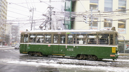 札幌市電M101