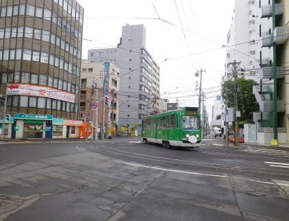 札幌市電 マスク電車