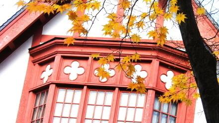 秋の知事公館