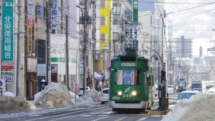 札幌市電 246