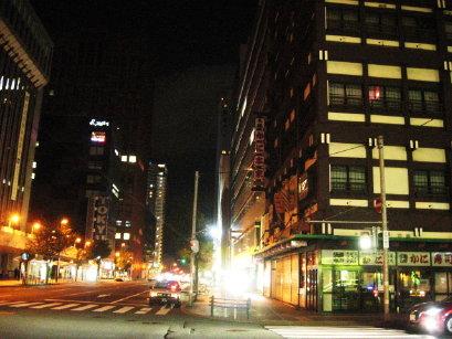 札幌の街角