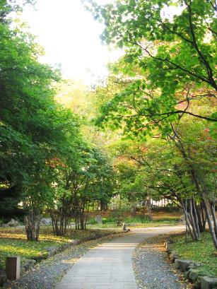 中島公園日本庭園