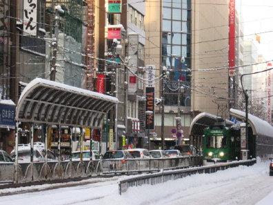 札幌市電 西四丁目電停