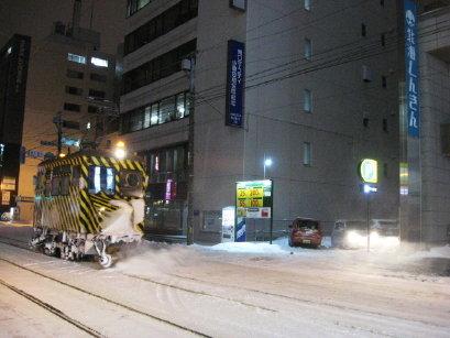 ササラ電車 雪2