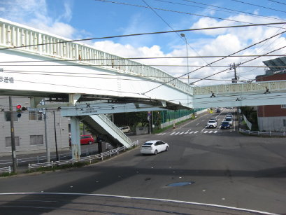 柏中学校前横断歩道橋