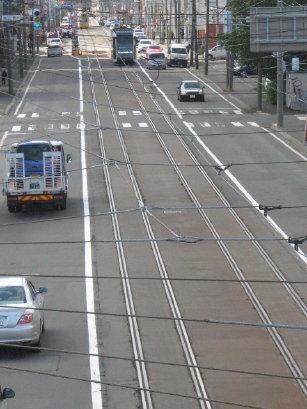札幌市電沿線