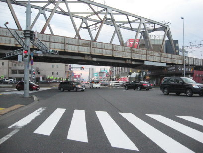 JR高架橋 新札幌付近