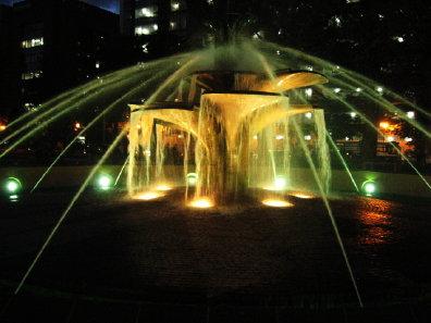 大通公園4丁目の噴水