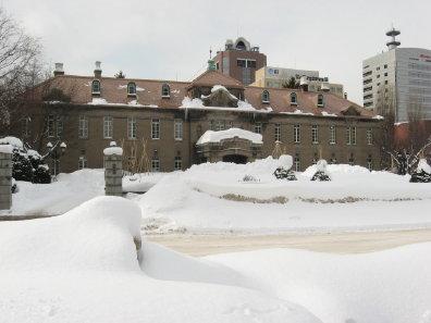 冬の旧札幌控訴院