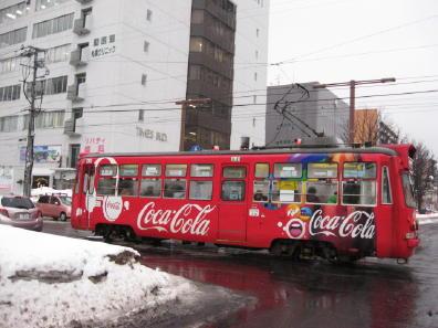 コカコーラ電車