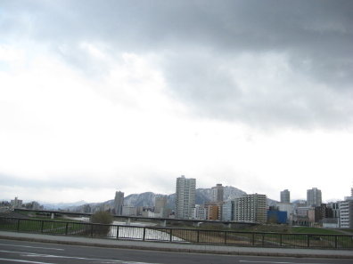 豊平橋からの眺め
