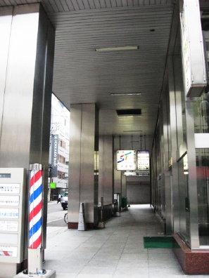地下鉄大通駅出入口付近
