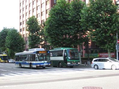 道南バスとジェイアール北海道バス